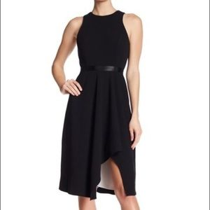 Calvin Klein High-Low Fit and Flare Dress
